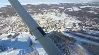 Flying Over Blue Mountain