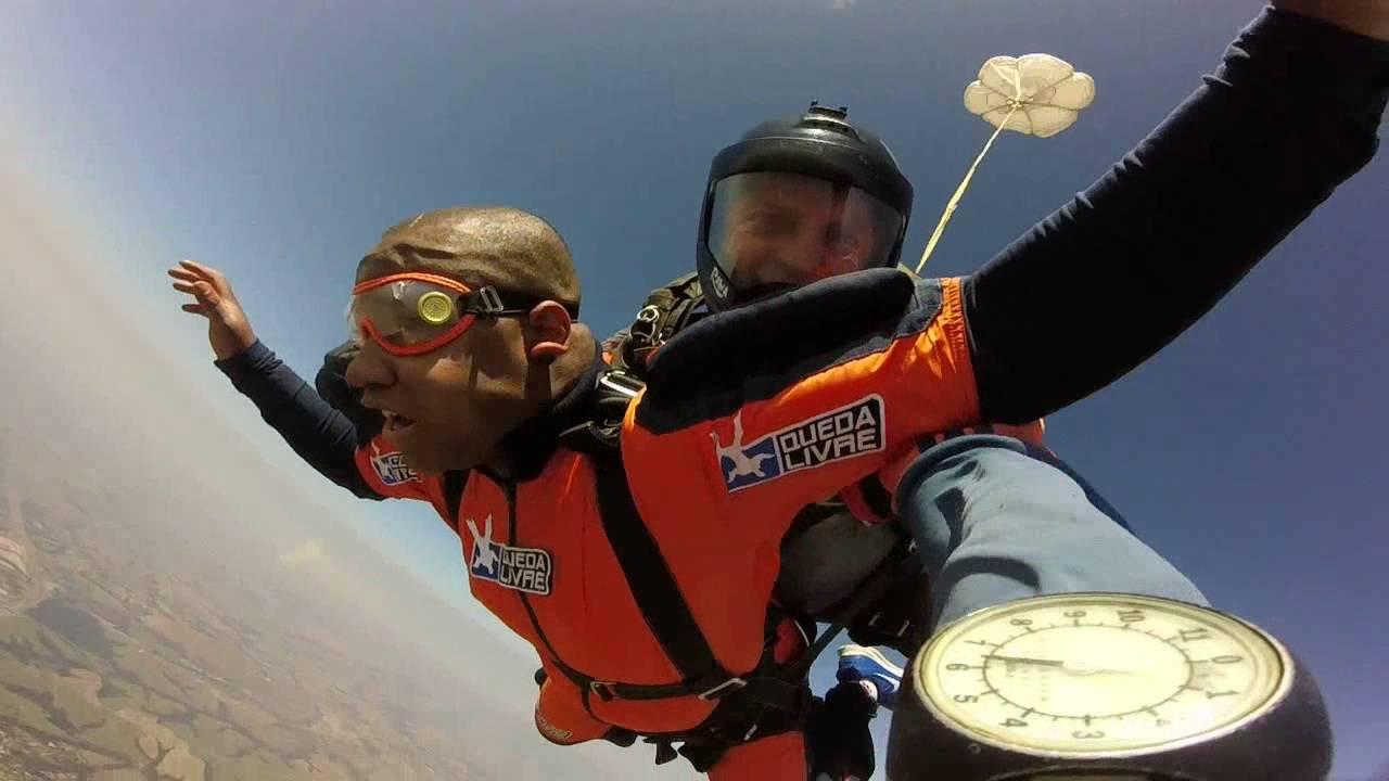Salto de Paraqueda do Wendell na Queda Livre Paraquedismo 31 07 2016