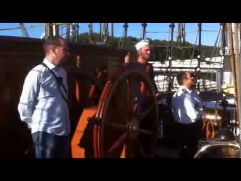 A bord du Danmark en Seine direction Rouen- 13 août 2013