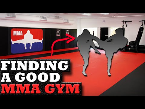 How to Pick a Good MMA Gym