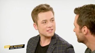 Max 60 Seconds with Eddie the Eagle's Taron Egerton (Cinemax)