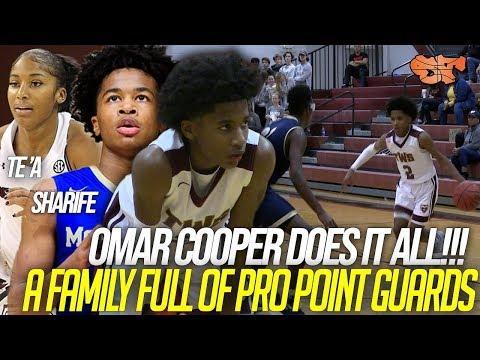 Omar Cooper is a SUPER EFFICIENT point guard who DOES IT ALL!!! | The Walker School vs Whitfield