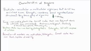 Introduction to Biology - 2 - Definition of Life & Classification