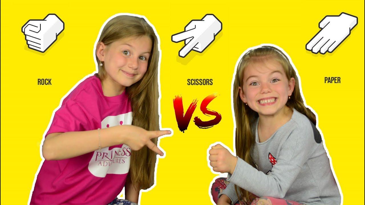 bf3c44c36 ROCK PAPER SCISSORS CHALLENGE | KIDS CHALLENGE | FUNNY GAME - YouTube
