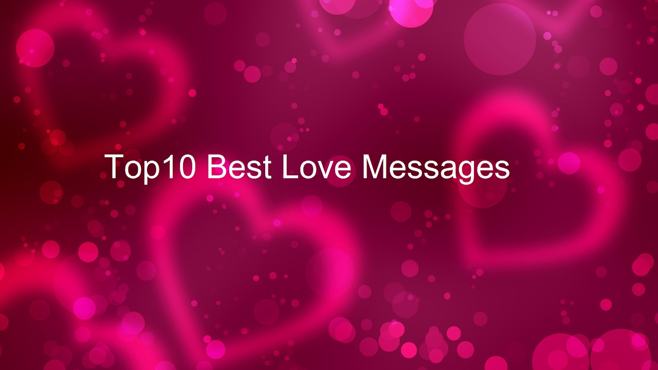 Best 10 Sweet Love Message to My Sweetheart - I Love You Messages ...