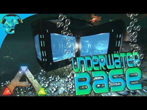 Underwater Base Construction and Rainbow Tek Trikes! ARK Future Evolved S2E13