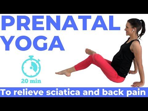 Prenatal Yoga For Sciatica And Back Pain