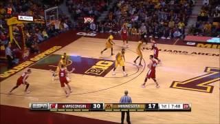 Sam Dekker 20 points vs Minnesota