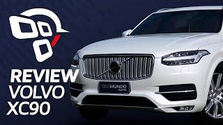Volvo XC90 (de meio milhão de reais!) - Review / Análise - TecMundo Auto