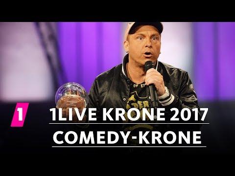 Der Dennis gewinnt die Comedy-Krone! | 1LIVE Krone 2017