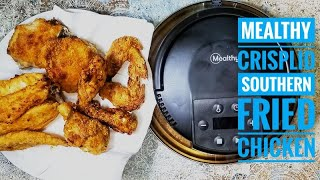 Mealthy Crisp Lid Review | AIR FRYER Southern Fried Chicken