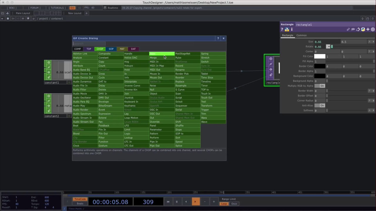 Touch Designer Tips And Tricks: Td Operators Are Basically Functions
