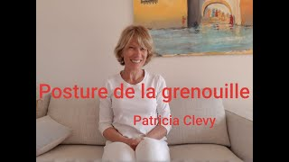 Posture de la grenouille. Kundalini yoga. Patricia Clevy.