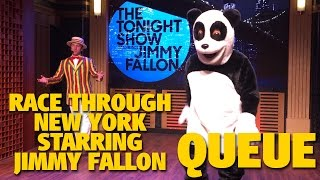 race-through-new-york-starring-jimmy-fallon-queue-universal-studios-florida