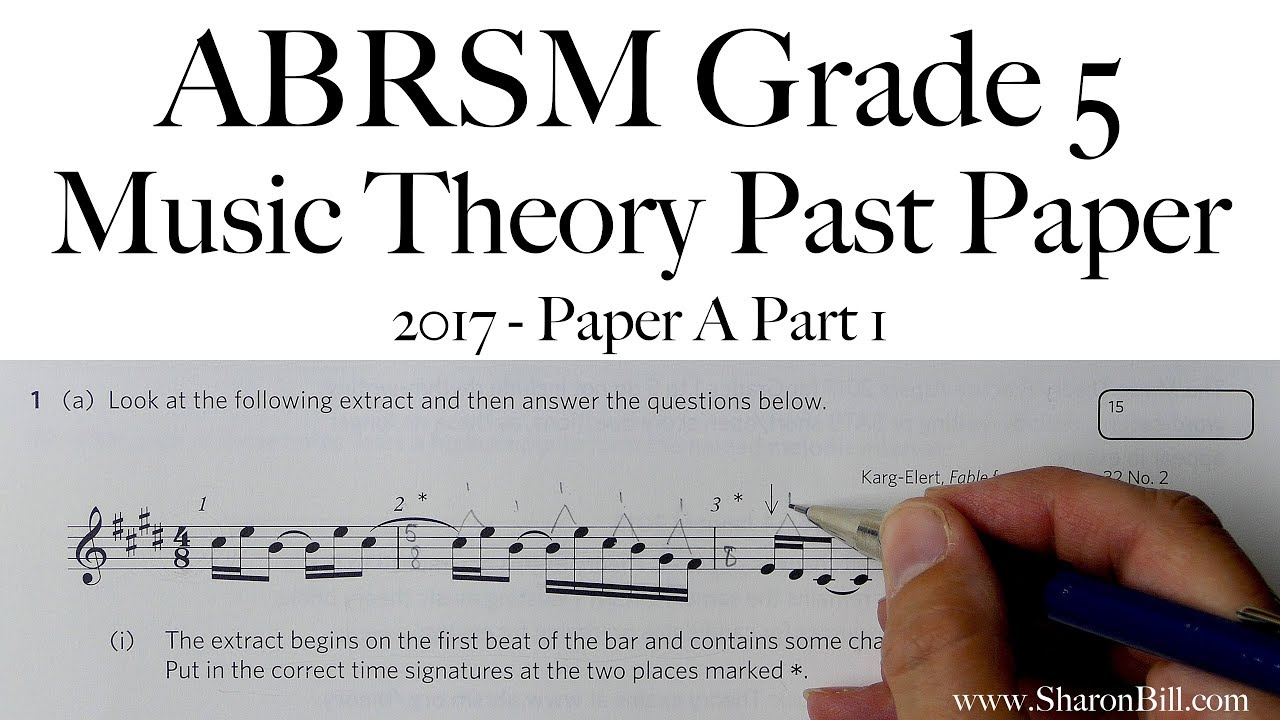 abrsm grade 1 theory past papers free pdf
