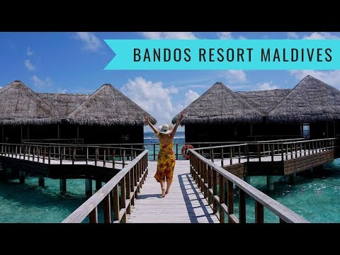 Bandos Island Resort Maldives // Water Villa, Spa and Island Tour