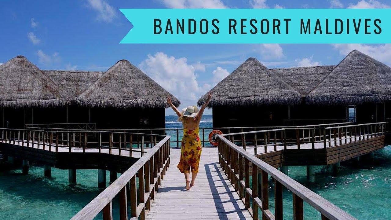 Bandos Island Resort Maldives Water Villa Spa And Island Tour