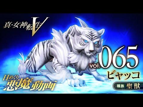 ビャッコ - 真・女神転生V 日めくり悪魔 Vol.065