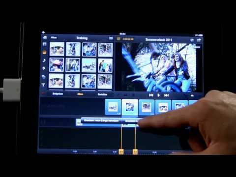 07 Avid Studio iPad: Clips auf der Timeline ersetzen und Bild in Bild