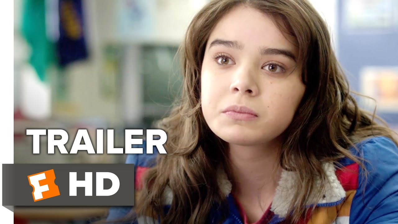 The Edge Of Seventeen Official Trailer 1 2016 Hailee Steinfeld