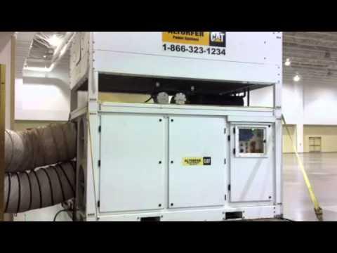 30-Ton outdoor air conditioner for rent at BigTenRentals.com Iowa City, IA