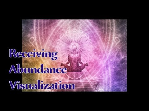 Receiving Abundance Guided Visualization