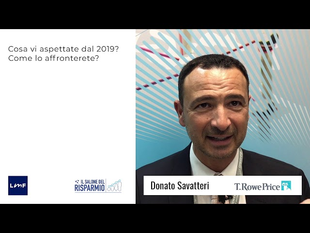 Donato Savatteri (T. Rowe Price) - SdR19
