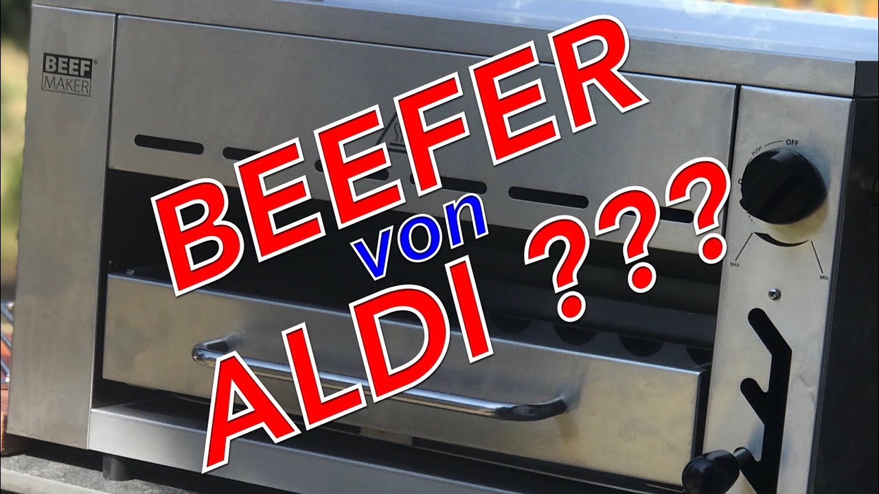 Billig Gasgrill Xxl : Aldi u ebillig beeferu c beef maker der große test u klaus grillt