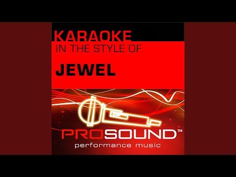 Hands (Karaoke Instrumental Track) (In the style of Jewel)