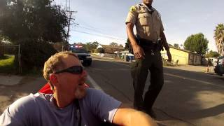 Pulled over by the San Diego Sheriff