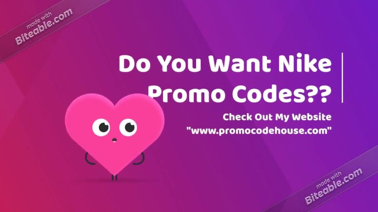 nike 20 off discount code