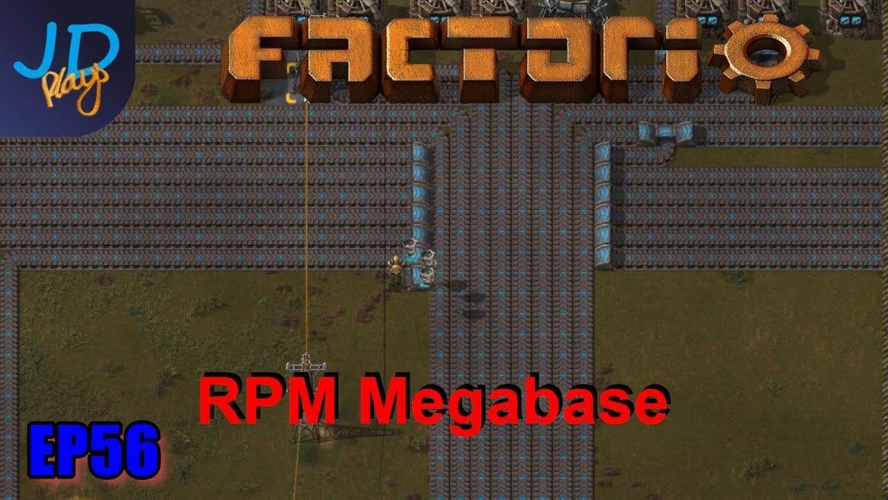 Factorio 0 17 Ep56 Weaving Belts   RPM Megabase – Metals 2016