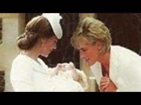 """ダイアナ妃と""""孫""""シャーロット王女の奇跡の合成写真。英国民はもちろん世界中の人々が衝撃「なんて美しい写真だろう」と"""