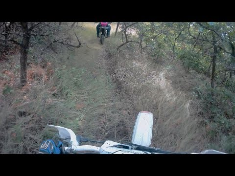 Dirt Bike Riding in the Muddy Woods!!