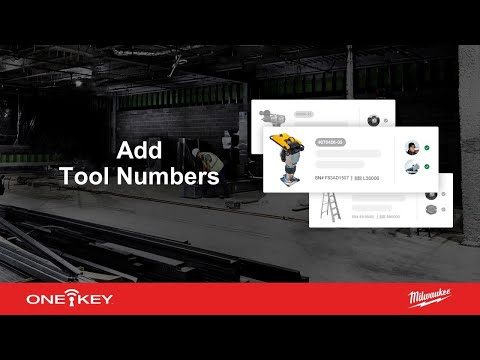 Add Tool Numbers: Tool Inventory App | One-Key Support for iOS