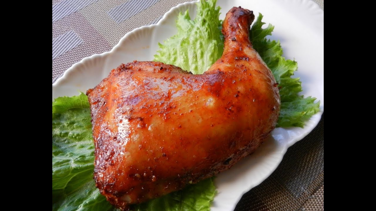 Garlic honey roast chicken legs recipe youtube ccuart Image collections