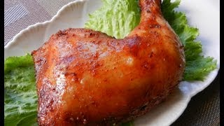 Garlic-honey Roast Chicken Legs Recipe