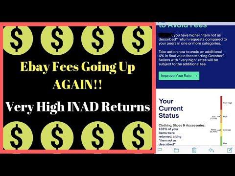 Ebay Fee INCREASE For High