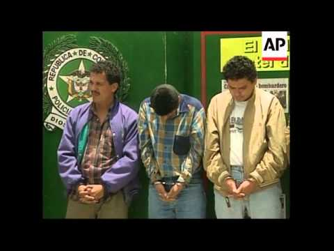 COLOMBIA: POLICE ARREST 17 PEOPLE IN DRUG BUST OPERATION