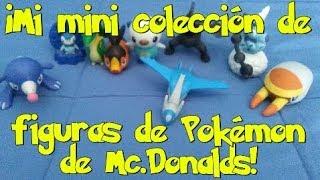 MI MINI COLECCIÓN DE FIGURAS DE POKÉMON DE MC.DONALDS/MY COLLECTION FIGURES OF POKEMON OF MC.DONALDS