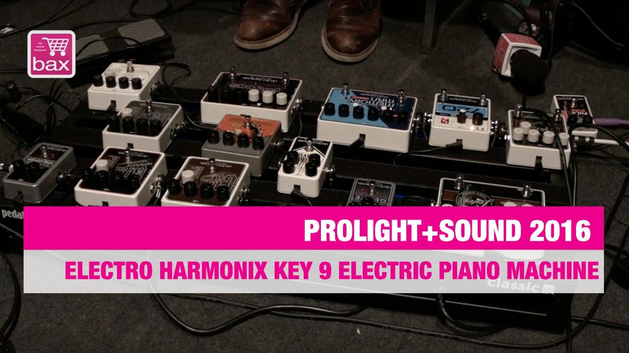 electro harmonix key 9 electric piano machine prolight sound youtube. Black Bedroom Furniture Sets. Home Design Ideas