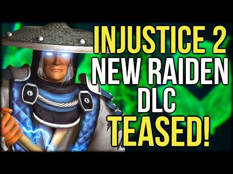Injustice 2: New Raiden DLC Teased By Ed Boon and Richard Epcar!
