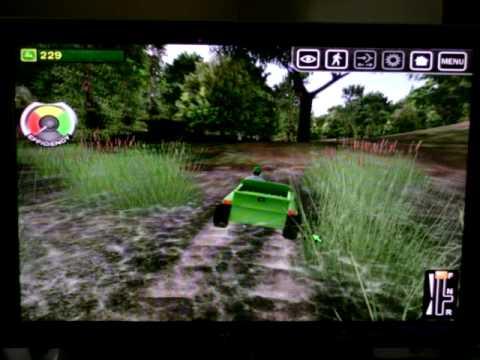 John Deere Gator >> john deere drive green easter egg - YouTube