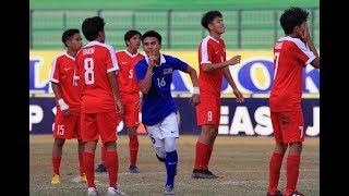 AFF U-16 Championship: Malaysia vs Singapore