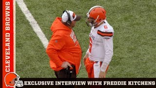 How Freddie Kitchens Became Head Coach & What 2019 Brings for the Browns