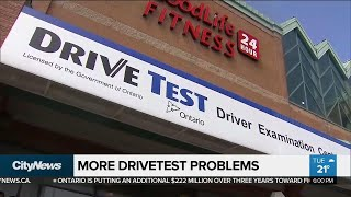 Long waits, booking issues continue at multiple Drive Test Centres