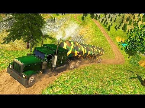 Uphill Offroad Army Oil Tanker - Best Android Gameplay HD