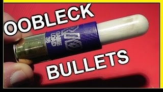 Non-Newtonian Fluid Shotgun Bullets - Must See!