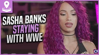 Sasha Banks RETURNING to WWE & NOT Quitting for AEW Due to NEW Contract.