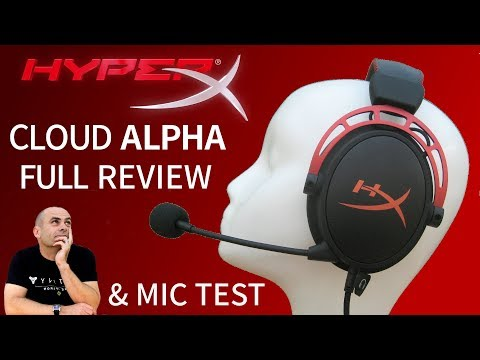 Kingston HyperX Cloud Alpha Gaming Headset - Full Review & Mic Test